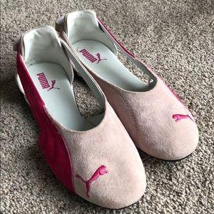 Pink Puma Impulse Cat flats sz 8